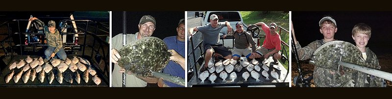 Starling Adventures - Guided flounder gigging  trips
